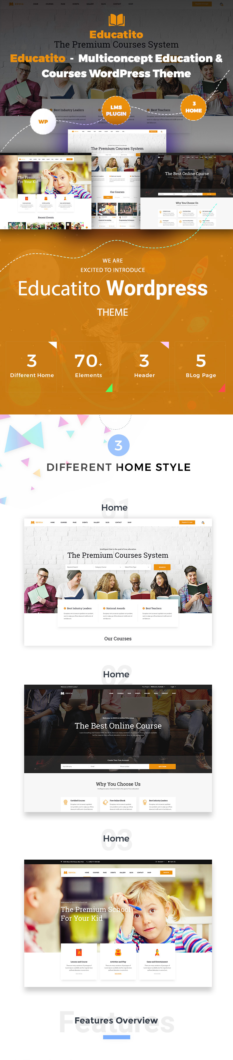 Educatito | Multiconcept Education & Courses WordPress Theme - 2
